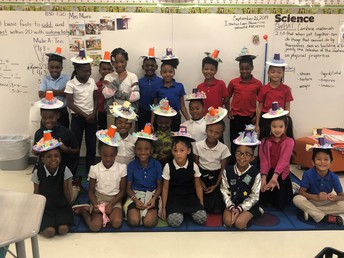 Mrs. Moore's class creates Mexican Sombreros