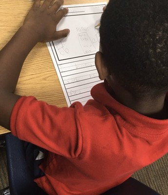 Writing instruction in 1st grade