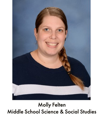 Mrs. Felten, Science and Social Studies