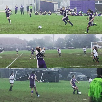 Girls' Soccer on the Attack