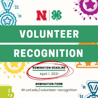 Nominate A Volunteer