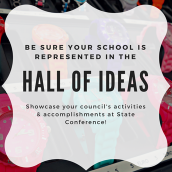 Showcase your Student Council in the Hall of Ideas!