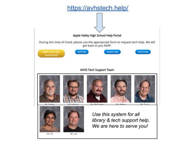 Visit avhstech.help