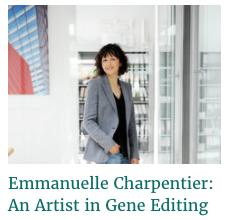 Emmanuelle Charpentier: An Artist in Gene Editing