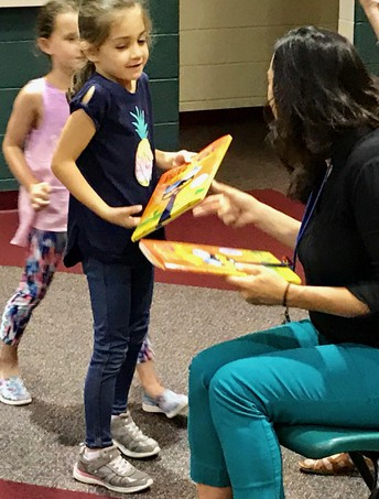 All first graders receive new book as summer prize