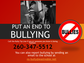 Put a stop to Bullying!