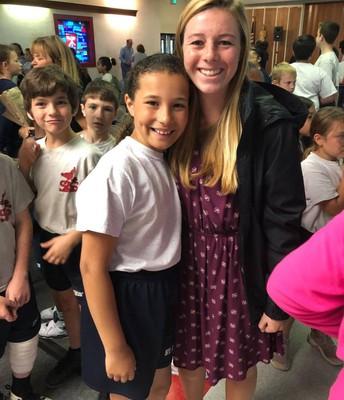 Congratulations Miss Claffey