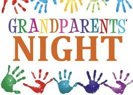Grandparents Night - Calendar Change!!