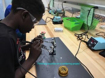 Arduinos, Laser Cutters, 3-D Printing Shark Tank