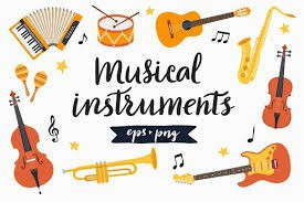 MUSICAL INSTRUMENTS FOR 5TH & 6TH