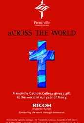 SYMBOLIC GIFTS FROM PRENDIVILLE CATHOLIC COLLEGE MAKE THEIR WAY ACROSS THE WORLD DURING YEAR OF MERCY