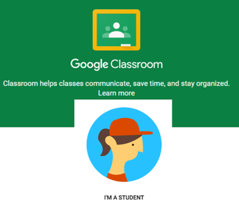STUDENTS USING GOOGLE CLASSROOM