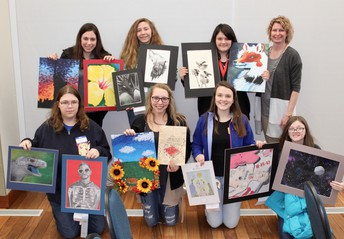 CRHS Art on Display