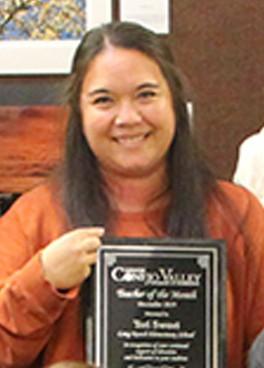 Congratulations Teri Sweet of Lang Ranch Elementary - CVUSD's November Teacher of the Month