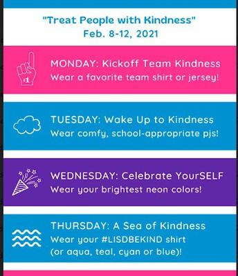 Kindness Week Spirit Wear