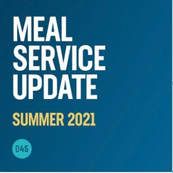 Summer Meal Service Update