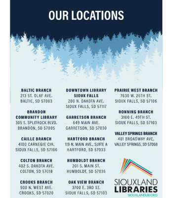 Siouxland Libraries locations
