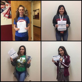Our Lady of the Lake University On-The Spot Admissions Scholarship Recipients