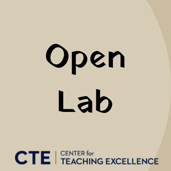 Open Lab - Course Support, Design, & Development