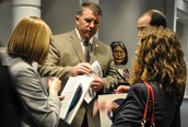 Lee County CTOs meet Rep. Lavvorn