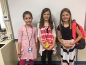 A trio of future teachers!