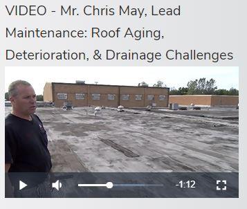 VIDEO:  Mr. Chris May - Chardon High School Roof(s)
