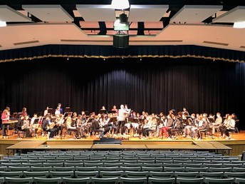 Tamanend Hosts CB Middle School Honors Band Festival