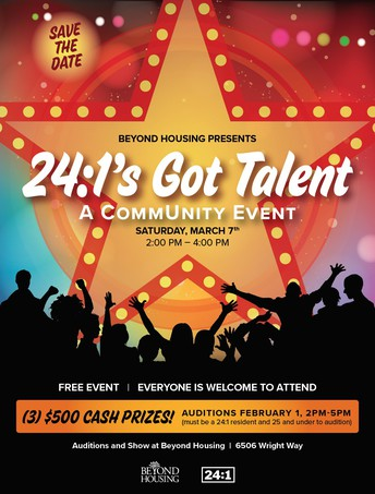 24:1's Got Talent Event