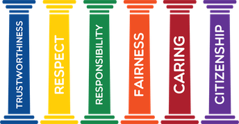 The Six Pillars of CHARACTER COUNTS!