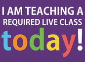 Required Live Classes