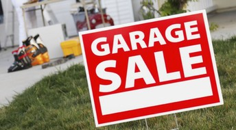 Reminder: Garage Sale is Next Week!