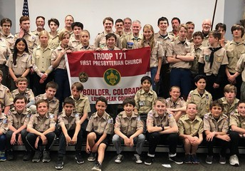 Troop 171 Family Photo 2019