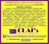 CLAI's Precious Gifts & Creations