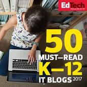 EdTech 50 Must Read Blogs = Tech Snacks!