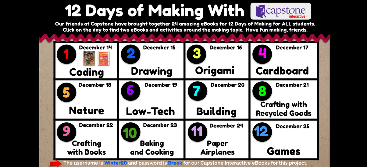 12 Days of Making