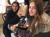French Students Dine Out at Evanston's Patisserie Coralie
