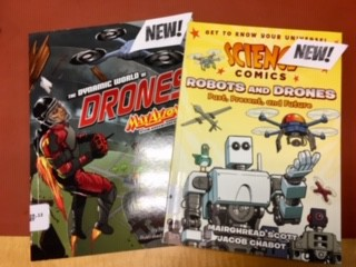 Learn about drones with graphic novels