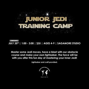 Junior Jedi Training Camp