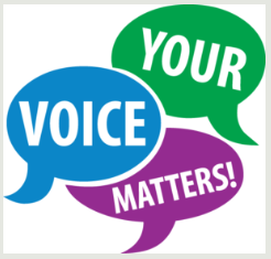 Want your voice heard?
