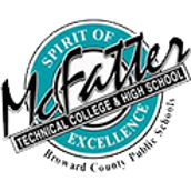 The logo of McFatter Technical College & High School