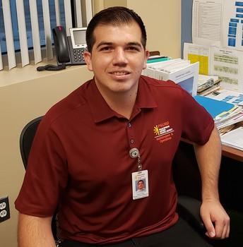 Gerrson Ojeda, Manager Grounds Maintenance