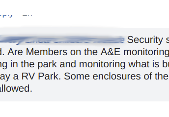 Are Members on the A&E monitoring what