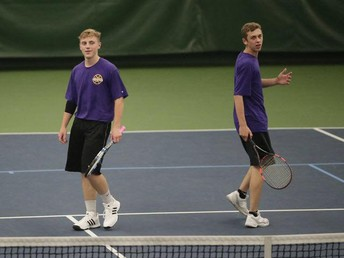 Casey Henrickson and Isaiah Polich Competing at State