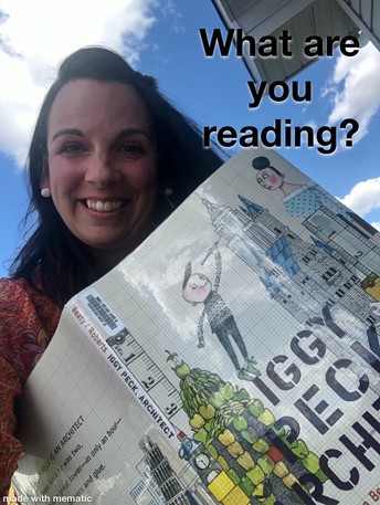 Mrs. Boehm's Weekly Challenge: What are you reading?