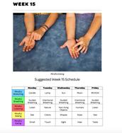 Mindful Classrooms--Week 15
