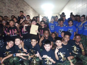 Alief ISD step teams won top honors at the Junior Stomp Down.