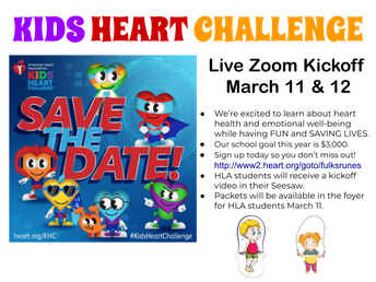 Picture of Kids Heart Challenge Flyer