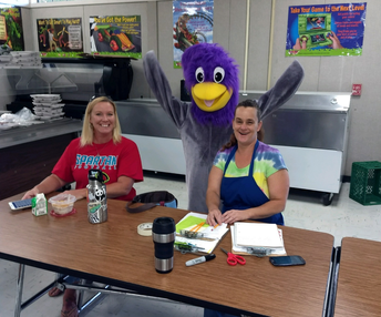 Roadrunner Surprise for Miss Suzanne & Miss Heather!