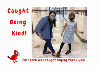 FRES student Caught Being Kind