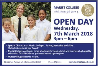 Marist Open Day